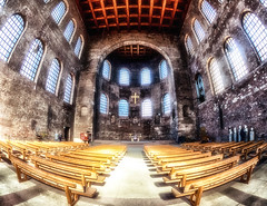 Basilika (stefan.lafontaine) Tags: german protestant church trier germany olympus em1 zuiko pro 8 mm fisheye