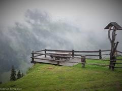 Foggy viewpoint (katrienberckmoes) Tags: viewpoint alps valley springs austria rauris foggy day summertime top landscape