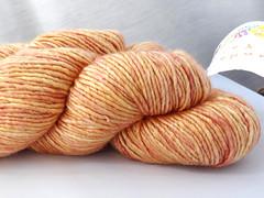 Sundara Yarn Aran Silky Merino - Sweet Orange Blossom (ladydanio) Tags: sundara yarn aran silky merino stash sweet orange blossom