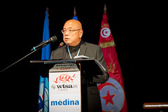 Artificial intelligence (ITU Pictures) Tags: itu uit wtsa16 tunisia artificial intelligence hammamet worldtelecommunicationstandardizationassembly mr stephen ibaraki social entrepreneur futurist