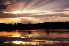 (qaxwkhlm1) Tags: water bayern see bavaria clouds sunset lake