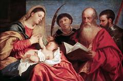 Virgin with Saints (lluisribesmateu1969) Tags: 16thcentury saint titian virgin onview kunsthistorischesmuseumwien vienna