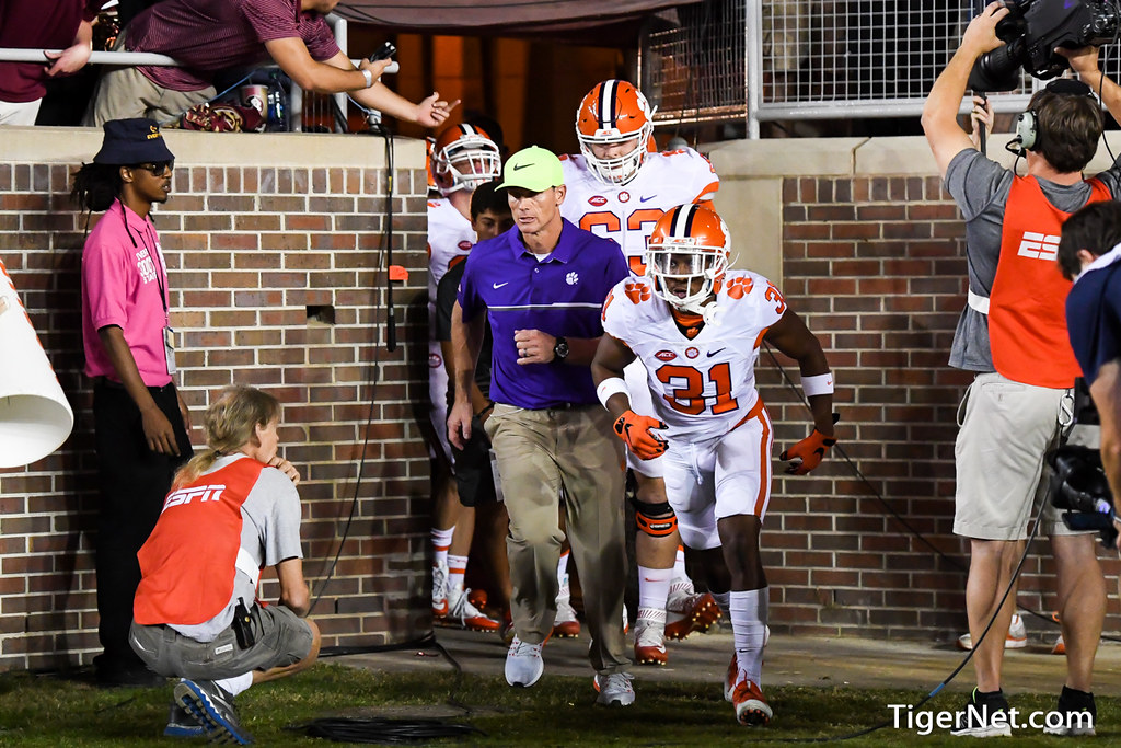 Clemson Photos: Brent  Venables, Ryan  Carter, 2016, Football, Florida  State