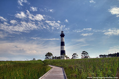 BodieLt+1_8328TMW (nickp_63) Tags: bodie island lighthouse nc clouds sky outer banks north carolina