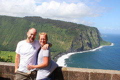 Emily and Mark, Waipio Valley (pajarero) Tags: hawaii 2016 honeymoon birds big island emily mark waipio
