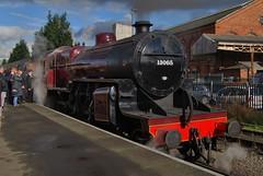 Severn Valley Railway 041116 - DSC_0900 (Leslie Platt) Tags: straightened exposureadjusted cropped severnvalleyrailway kidderminster lms260crablocomotive13065 seasonfinalegala preparingfordeparture