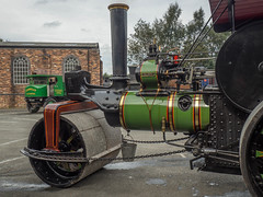 FOXFIELD (Ben Matthews1992) Tags: foxfield railway traction engine steam old vintage historic preserved vehicle transport british staffordshire england britain aveling porter roller skippy 11024b f6234