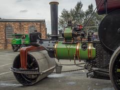 FOXFIELD (Ben Matthews1992) Tags: foxfield railway traction engine steam old vintage historic preserved vehicle transport british staffordshire england britain aveling porter roller skippy 11024b f6234
