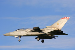 ZE965 WT (calzer) Tags: 2006 november fighter jet sqn raf kinloss f3 tornado firebirds 56