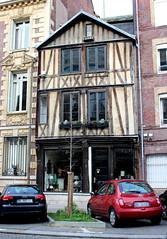 Rouen - Maison Rue Beffroi (Philippe Aubry) Tags: normandie seinemaritime rouen valledelaseine colombages maison