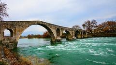 Arta's stone bridge, Arta, Greece (George Fournaris) Tags: arta bridge stone γεφύρι άρτασ άρτα
