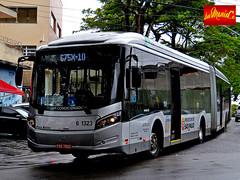 6 1323 Viação Cidade Dutra (busManíaCo) Tags: caio millennium brt articulado mercedesbenz o500uda bluetec 5 busmaníaco nikond3100 nikon d3100 buses urbano