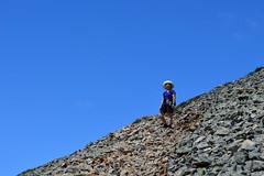 Chunlin on the Slope of Silver Peak (Sotosoroto) Tags: dayhike hiking cascades washington mountains silverpeak flowers