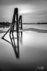 Remnants (Lisa Saffell) Tags: moorings river missouri missouririver saintcharles riverfront longexposure
