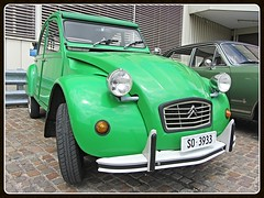 Citron 2CV (v8dub) Tags: citron 2 cv schweiz suisse switzerland french pkw voiture car wagen worldcars auto automobile automotive old oldtimer oldcar klassik classic collector ente