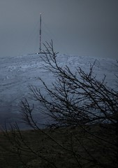 Antenna Peak (a.lee.miller) Tags: ifttt 500px dublin ireland landscape montpelier hill night autumn forest frost killiney snow snowy mountain