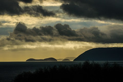 Between Storms (EXPLORED) (Katrina Wright) Tags: dsc4004 clouds dark storm stormclouds islands lummiisland wa silhouettes