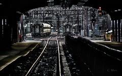 Hoboken tracks (Photography by C.Mac.) Tags: hoboken jersey train mta lackawanna