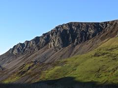 6192 Craig y Bera - a shoulder of Mynydd Mawr in Eryri (Snowdonia) (Andy - Busyyyyyyyyy) Tags: 20161124 ccc cliffface crag craigybera eryri goldenhour mmm mountain mynyddmawr snowdonia