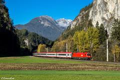 ÖBB 1116 053 mit IC 865 bei Waldele (TheKnaeggebrot) Tags: öbb siemens taurus arlbergbahn roppen inntal oic ic ic865 1116053