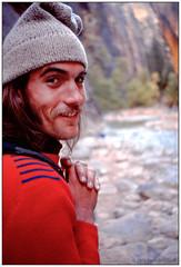 Our Guide Allan 1976 (Fogle Images) Tags: allanmurphy portrait canyonwalking eastforkvirginriver thenarrows zionnationalpark coloradoplateau utah