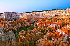 Early Morning at Bryce (Herculeus.) Tags: 2012 brycecanyonnp sunrise sunsetpoint ut 5photosaday outdoor landscape country canyon bright serene