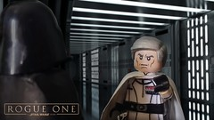 """""""The power that we are dealing with here, is immeasurable""""- Rogue One Preview (I P R I M E I) Tags: lego starwars rogueone directorkrennic deathsquad darthvader custom moc"""