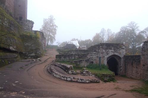 Within Château du Fleckenstein, 01.11.2011.