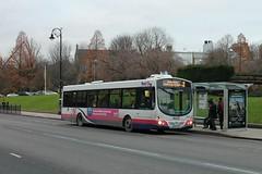First Glasgow - WX55 TZS (66955) (MSE062) Tags: first glasgow volvo b7rle single decker bus wright eclipse urban bath somerset bristol wx55tzs wx55 tzs 66955 low floor