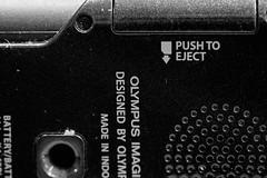 push to eject (nicklock1) Tags: macromondays arrow