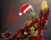 Groot Christmas (edwicks_toybox) Tags: 16scale christmas groot guardiansofthegalaxy hottoys marvel santahat