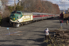 The North Pole (sully7302) Tags: maine eastern morristown erie whippany emd fl9 polar express train railroad transport nj new jersey