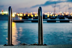DSC09854 (DarioG_) Tags: canon 50mm f14 sony nex seascape night bokeh italy boats blue hour brindisi puglia apulia harbour porto 5n