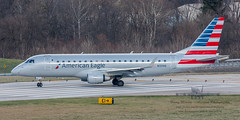 20160104_0200 (HarryMorrowPhotography) Tags: imagescopyrightofharrymorrowtradingasharrymorrowphotogr imagescopyrightofharrymorrowtradingasharrymorrowphotography n131hq american eagle operated by republic airlines embraer emb175 seen here port columbus oh very wintery day full snow showers jan 2016