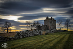 Balvaird Castle Evening Sunset - Scotland (Renegade Scot) Tags: scotland old architecture castle building ruin balvaird ancient medieval tower stone historic wall turret remains relic gatehouse towerhouse external exterior balvairdcastle ramparts courtyard perthshire scottish scottishcastle scenery scottishscenic scottishscenery landscape castleruin trees castlescape kinrossshire scottishhistoricalsite scotlandhistory castlelandscape sunset historicscotland scottishlandscape
