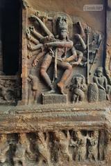 Nataraja (Vinda Kare) Tags: india ancient karnataka badami vatapi bagalkot cave rockcarving nataraja sandstone