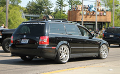 Volkswagen Passat W8 Wagon (SPV Automotive) Tags: volkswagen passat w8 wagon sports car tuner black