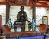 Statue of Xuanzang (kasiahalka (Kasia Halka)) Tags: unescoworldheritagesite giantwildgoosepagoda bigwildgoosepagoda buddhistpagoda tangdynasty 652 morningbell godofwealth xuanzang xian china