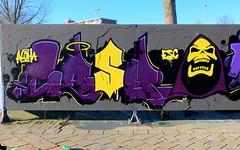 Graffiti Couwenhoek - Casm (oerendhard1) Tags: graffiti streetart urban art rotterdam couwenhoek casm esc aloha