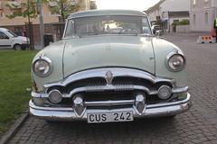 Packard 1954 (Drontfarmaren) Tags: pictures classic car vintage spring iron gallery sweden cruising 1954 american bilder packard vår öland 2014 galleri borgholm drontfarmaren