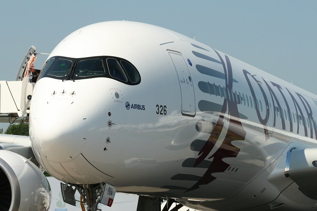 Airbus A350 at ILA 2014 Berlin Air Show by Pink Dispatcher, on Flickr