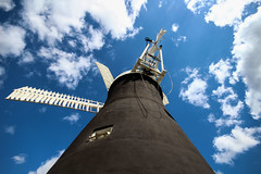 Holgate Windmill, May 2014 (1) (nican45) Tags: york sky slr mill windmill clouds canon yorkshire sails sigma wideangle cap sail dslr 1020mm 1020 holgate 600d hwps 1020mmf456exdc holgatewindmill eos600d