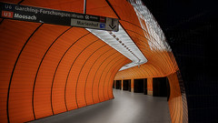 Orange Tube (Christian1650) Tags: station canon munich eos tube marienplatz 6d