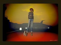 my new bulldog friend Spot :) (Mai Moonwall) Tags: life dog french spot bulldog sl mai second moonwall