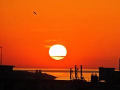 Amanecer (Antonio Chacon) Tags: españa sunrise mar spain andalucia amanecer cielo nubes costadelsol málaga marbella
