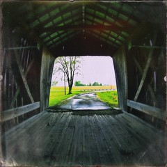 IMG_3186.JPG (Jamie Smed) Tags: road wood city bridge ohio usa green rural canon square lens photography eos rebel prime spring focus midwest cityscape country bridges wideangle fisheye lynchburg april coveredbridge fixed manual roads dslr manualfocus app smalltown 2012 facebook 500d handyphoto highlandcounty rokinon teamcanon t1i iphoneedit hipstamatic hipstamtic hipstaprint rokinin snapseed oggl jamiesmed