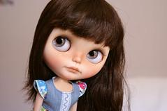 Olivia, mi peque hecha por Santi <3