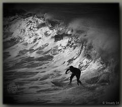 in the black hole (Canon makes it easy !!!!!) Tags: beach bells canon surf australia anglesea snoad snoady robsnoad