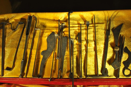 藏醫-天葬用器具