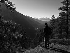 Explorer (CNorthExplores) Tags: travel autumn bw white canada black mountains canon hiking britishcolumbia explorer hiker g11 mountrobsonprovincialpark canadianrockies explored